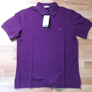 BURBERRY BRIT DEEP PURPLE AMETHYST MEN POLO SHIRT